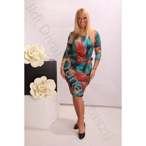 Livello színes tavaszi ruha - 44